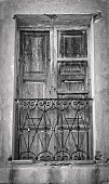 Old French balcony