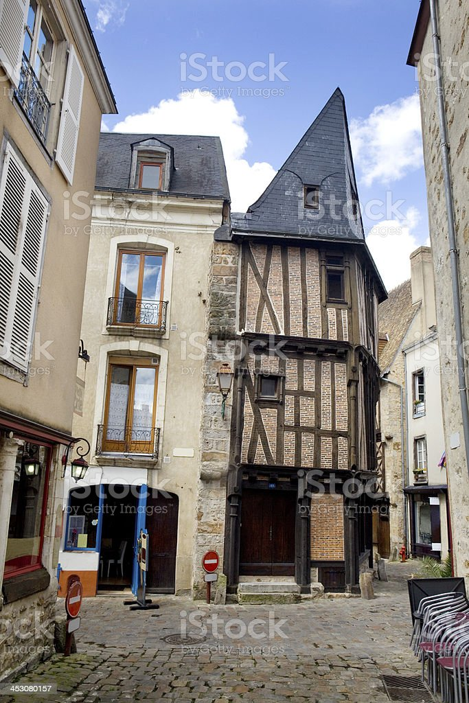 Old French Building stock photo