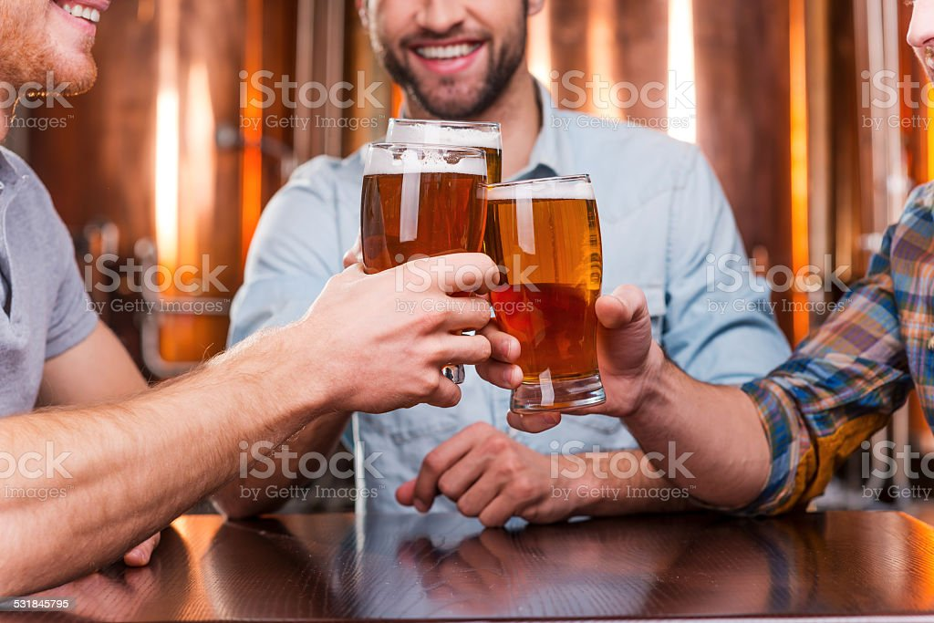 Old friends meeting. stock photo