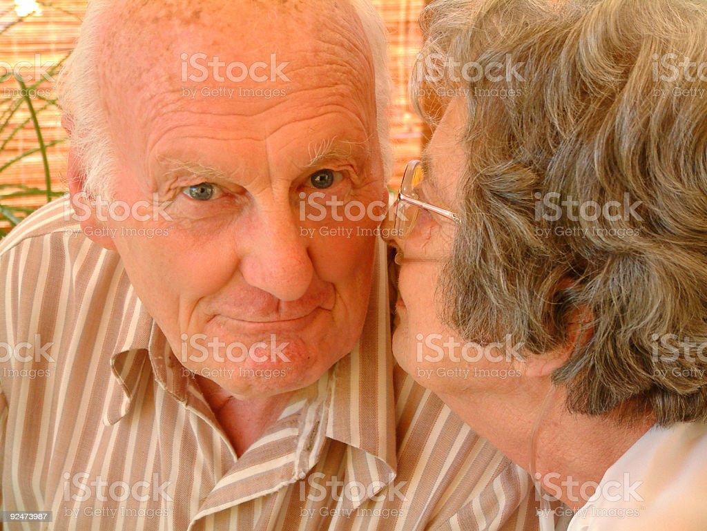 Old Friends royalty-free stock photo