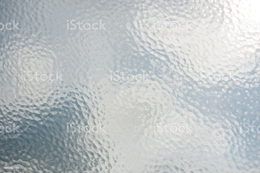old frosted Glass stock photo