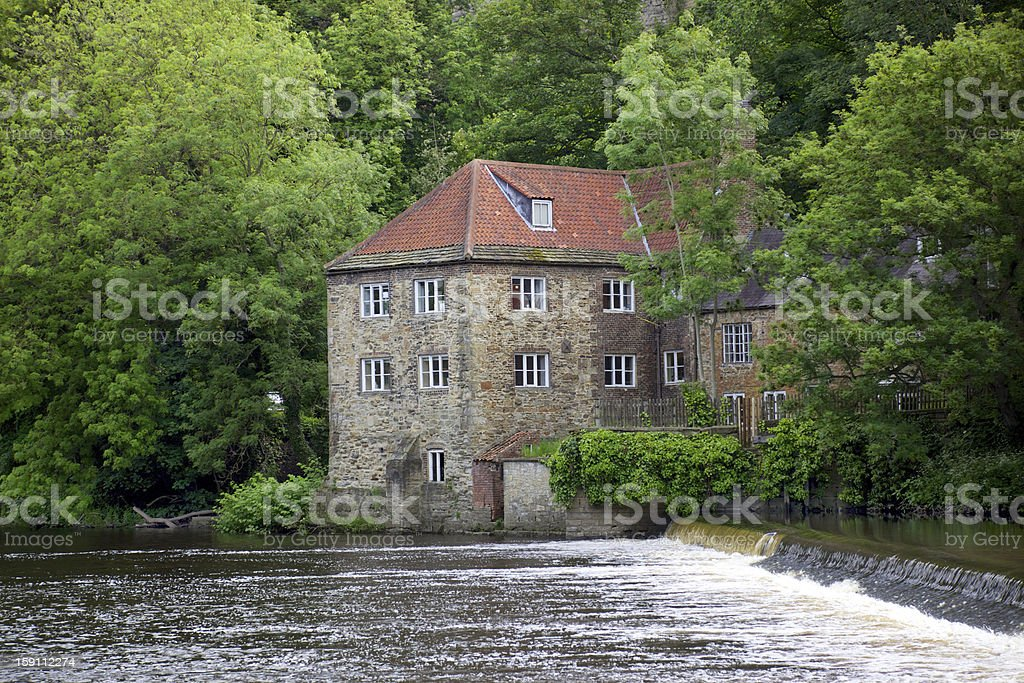 Old Fulling Mill royalty-free stock photo
