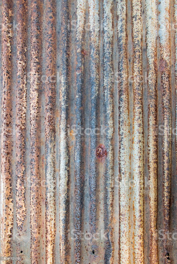 Old galvanized steel texture for design background stock photo