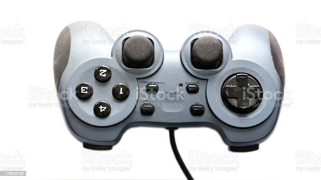 Old game pad royalty-free stock photo