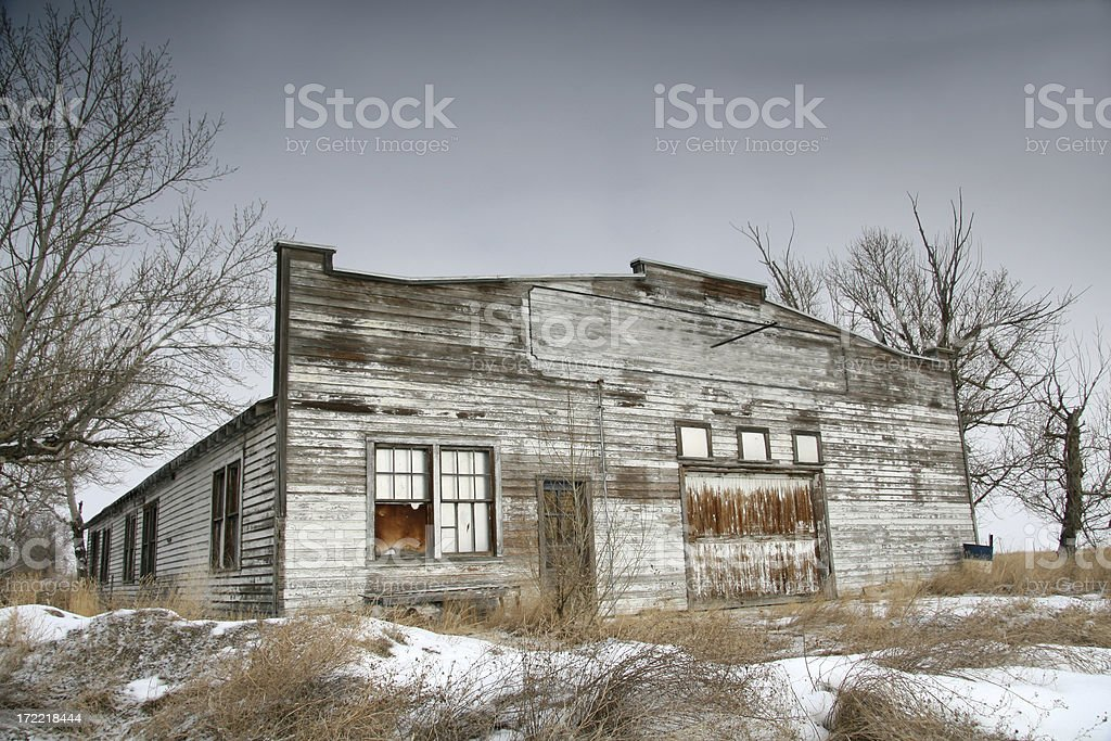 Old Garage royalty-free stock photo