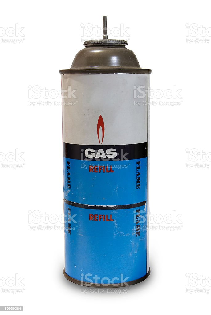 Old Gas Can stock photo
