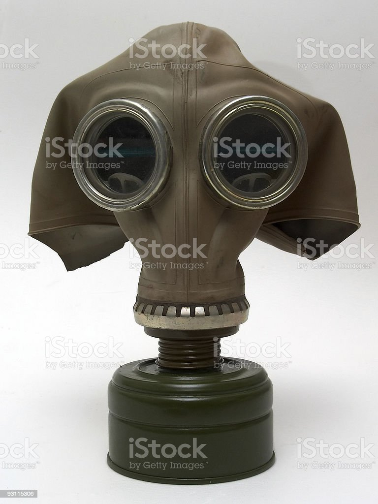 old gas-mask royalty-free stock photo