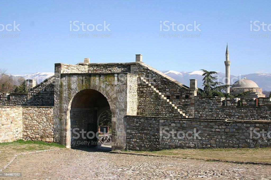 Old Gate Skopje royalty-free stock photo