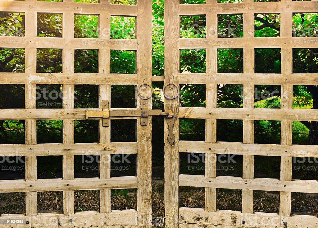 old gates stock photo