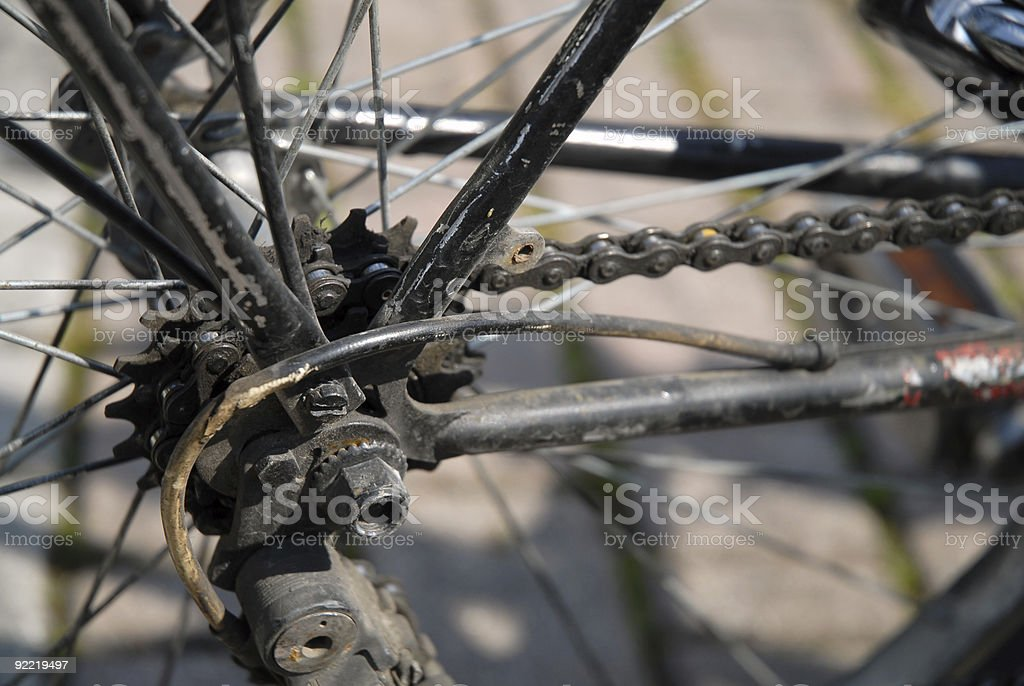 Old gear royalty-free stock photo