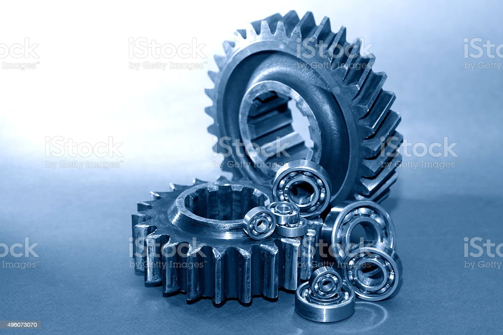 Old Gears stock photo