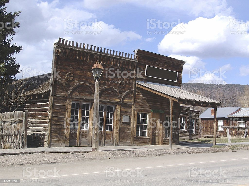 Old General Store royalty-free stock photo