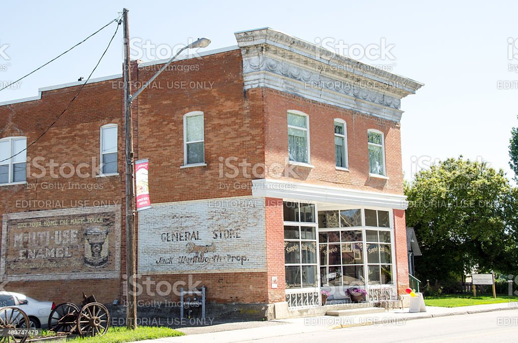 Old General Store stock photo