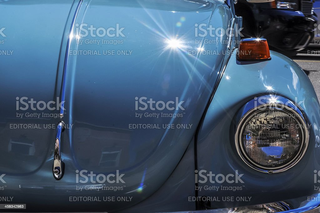 old german car stock photo