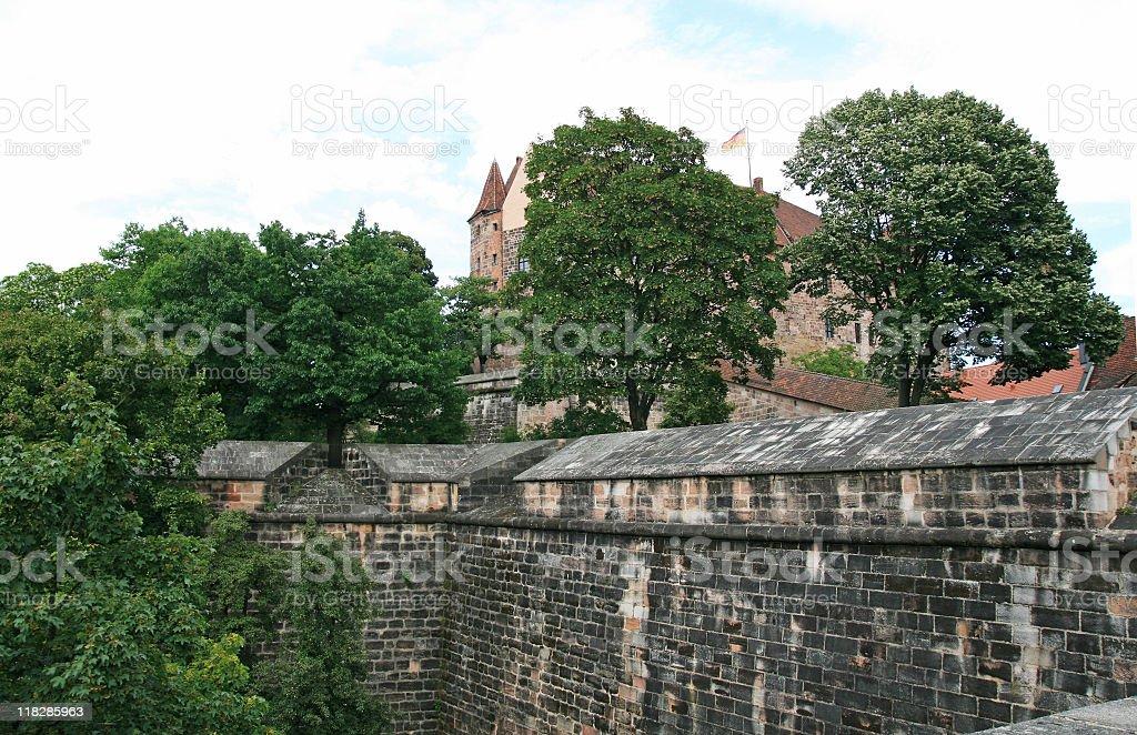 Old German castle stock photo