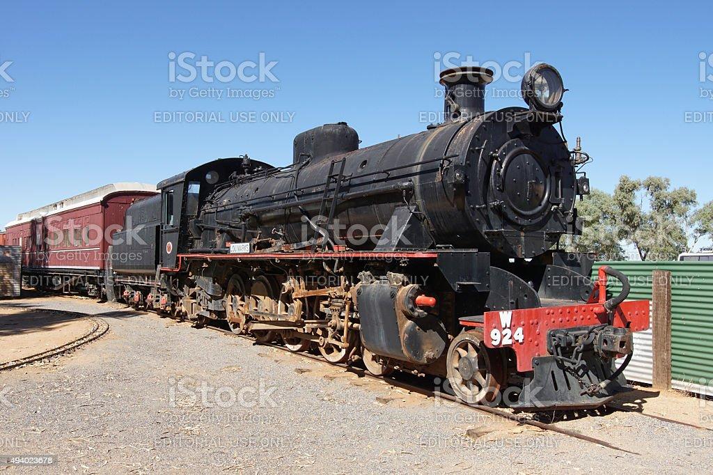 Old Ghan Railway, Australia stock photo