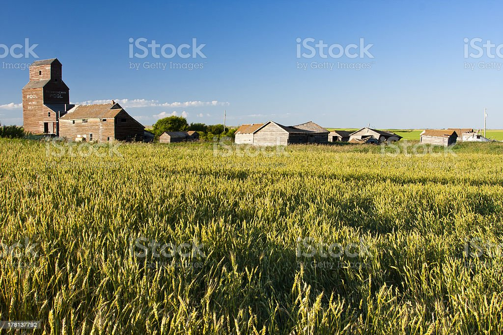 Old Ghost Town royalty-free stock photo