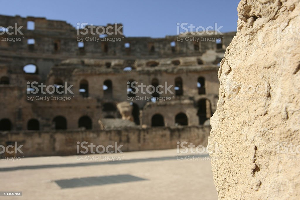 old gladiator arena