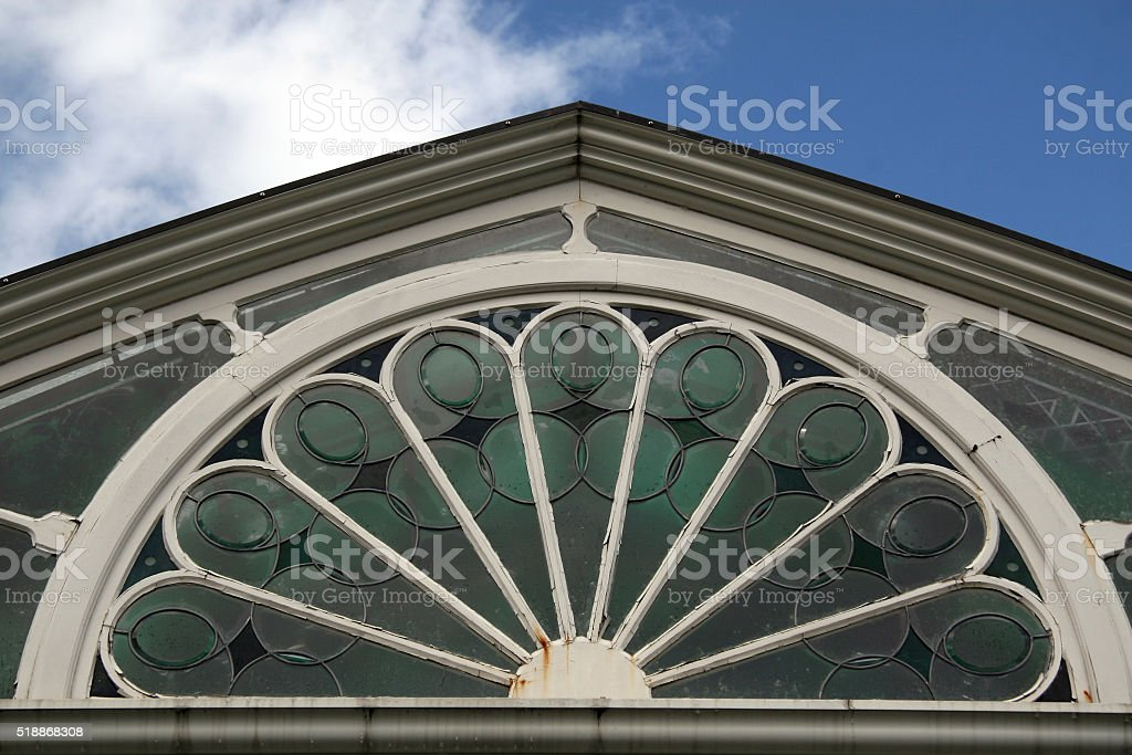 Old Glass stock photo