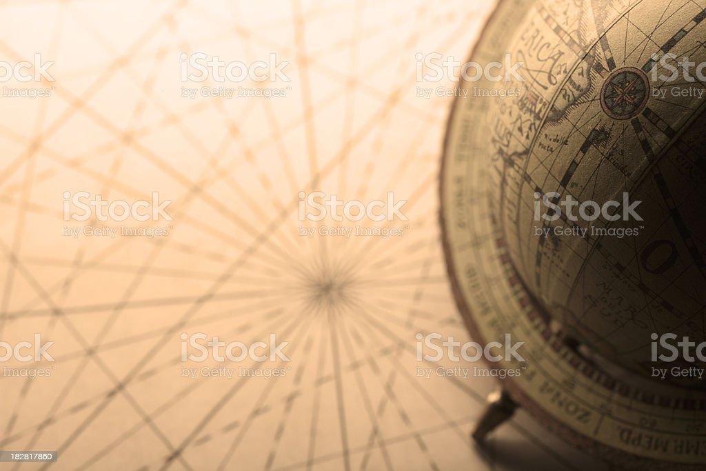 Old Globe stock photo