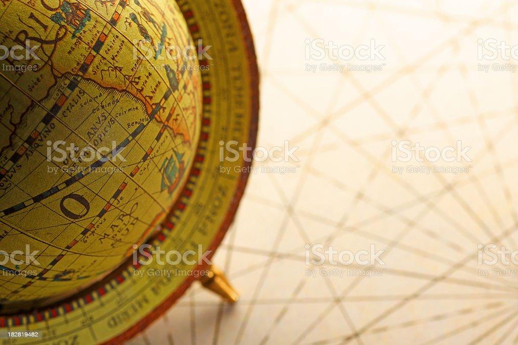 Old Globe royalty-free stock photo