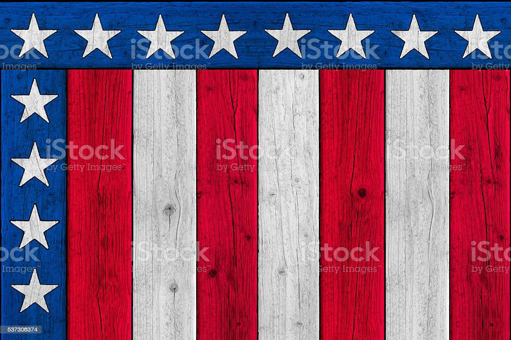 Old Glory Background Patriotic Corner Stars and Stripes stock photo