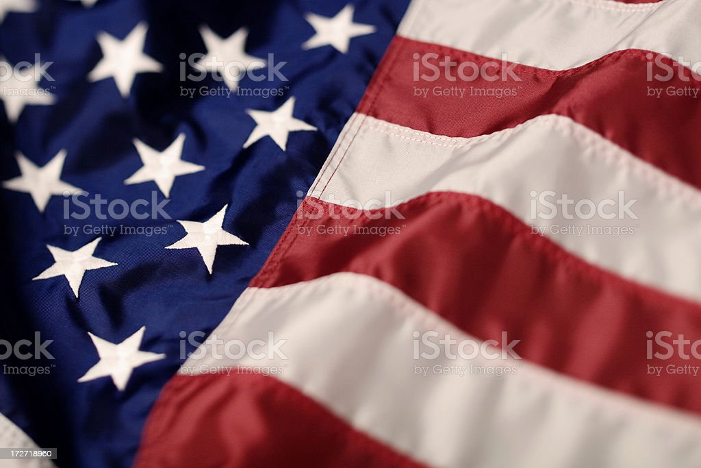 Old Glory royalty-free stock photo