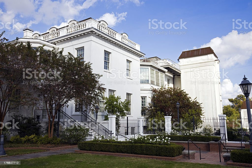 Old Governor's Mansion - Baton Rouge stock photo