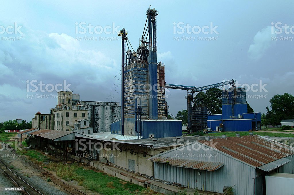 Old Grain Mill royalty-free stock photo