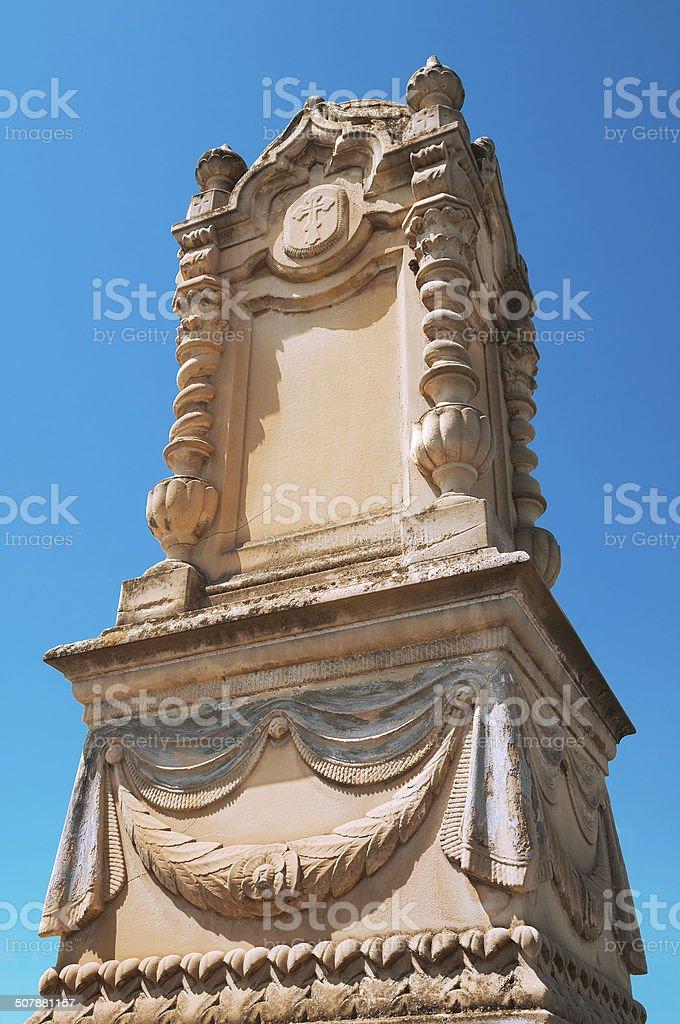 Old gravestone royalty-free stock photo
