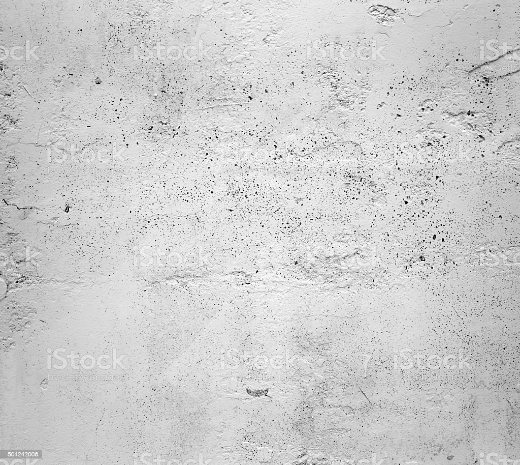 Old gray white wall dark texture background stock photo