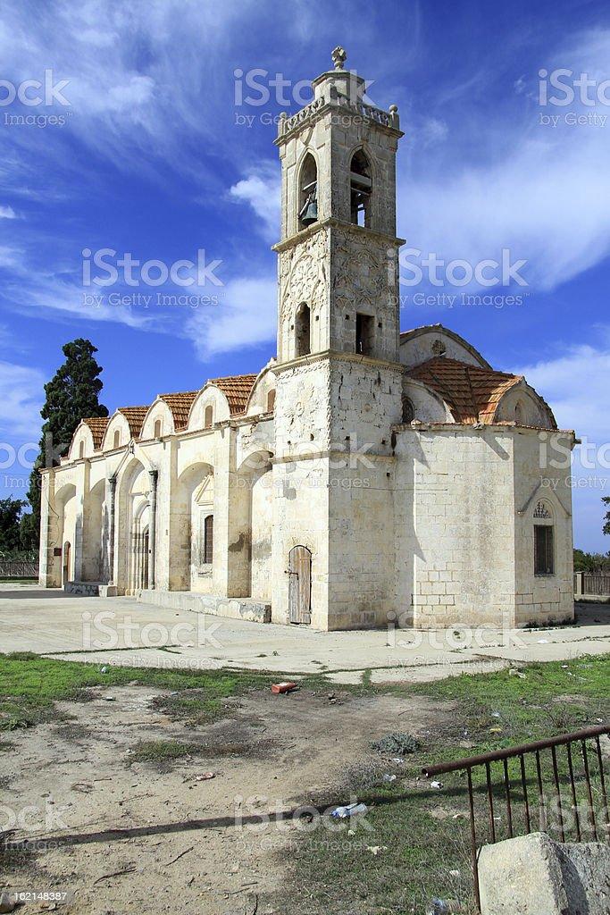 Old greek church stock photo