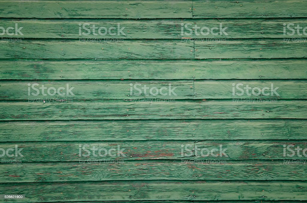 Old Green Wall stock photo