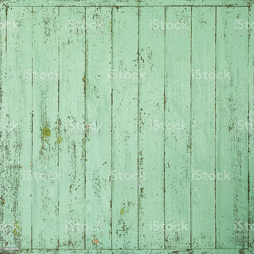 Old green wooden board background. royalty-free stock photo