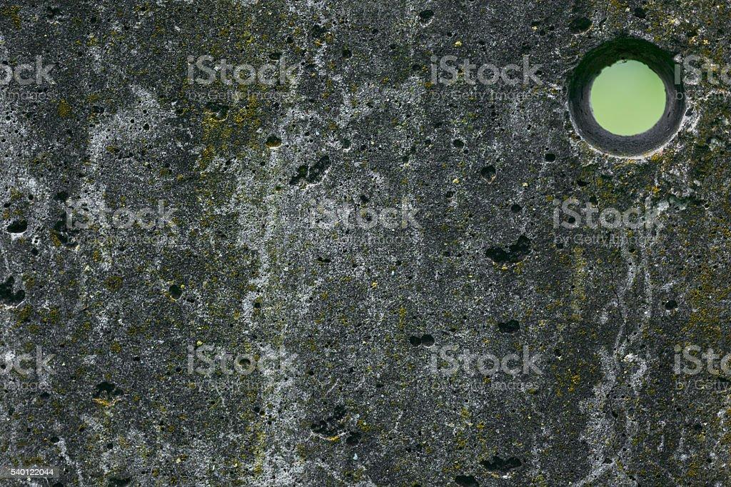 Stein Alte Graue Wand Mit Rundes Loch Stockfoto 540122044 | Istock Graue Wand Und Stein