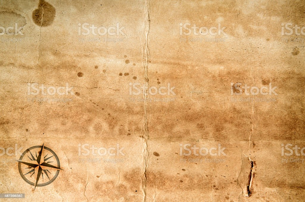 Old grunge blank paper stock photo