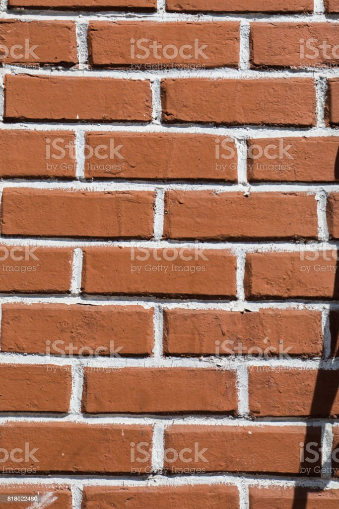 Old grunge brick wall background stock photo