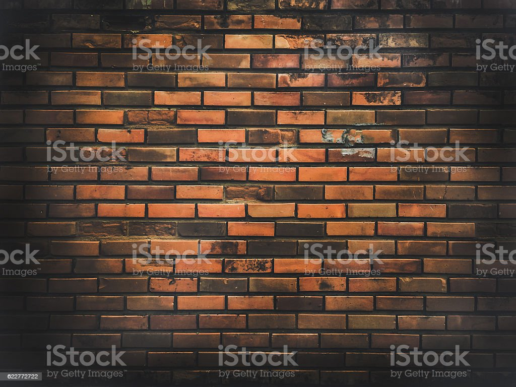 Old grunge brick wall background textured.abstract background. stock photo
