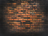 Old grunge brick wall background textured.abstract background.
