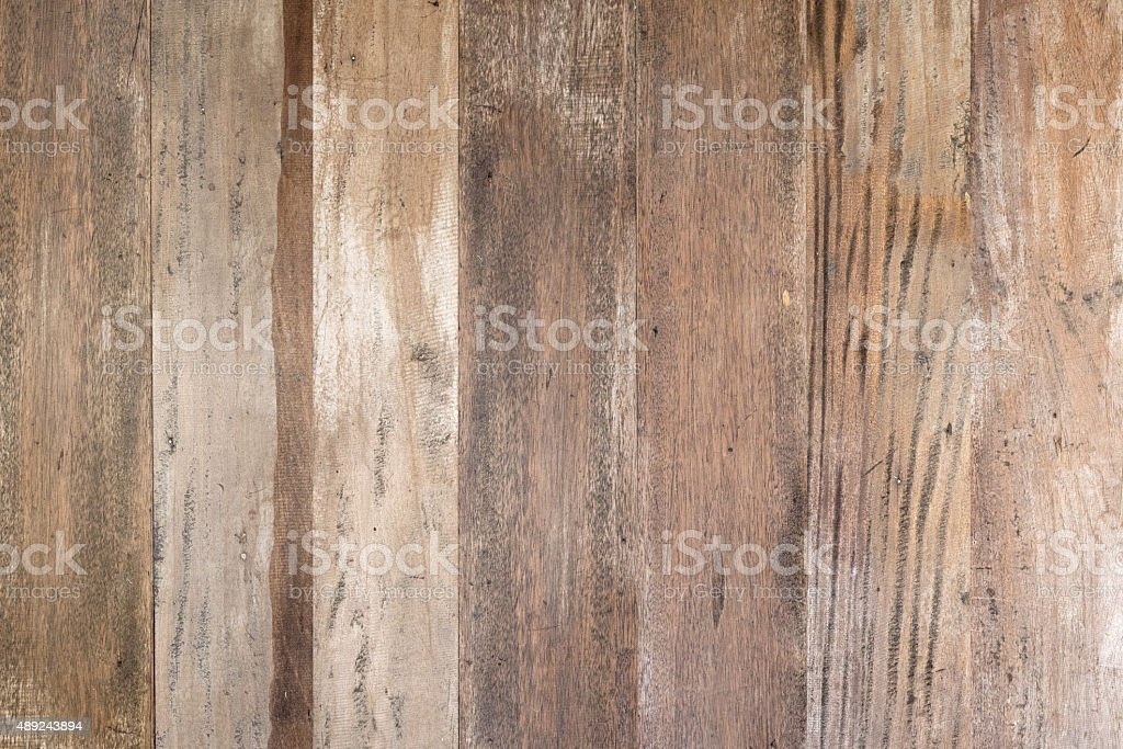Old grunge brown wood  wall  texture background stock photo