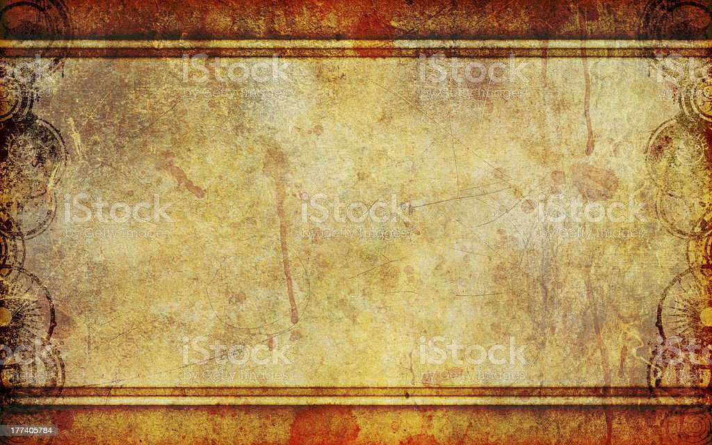 Old Grunge Canvas Background stock photo