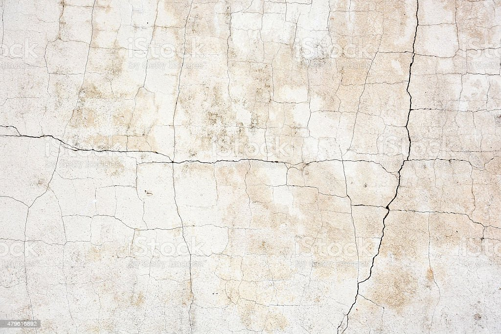 old grunge cracked concrete wall stock photo