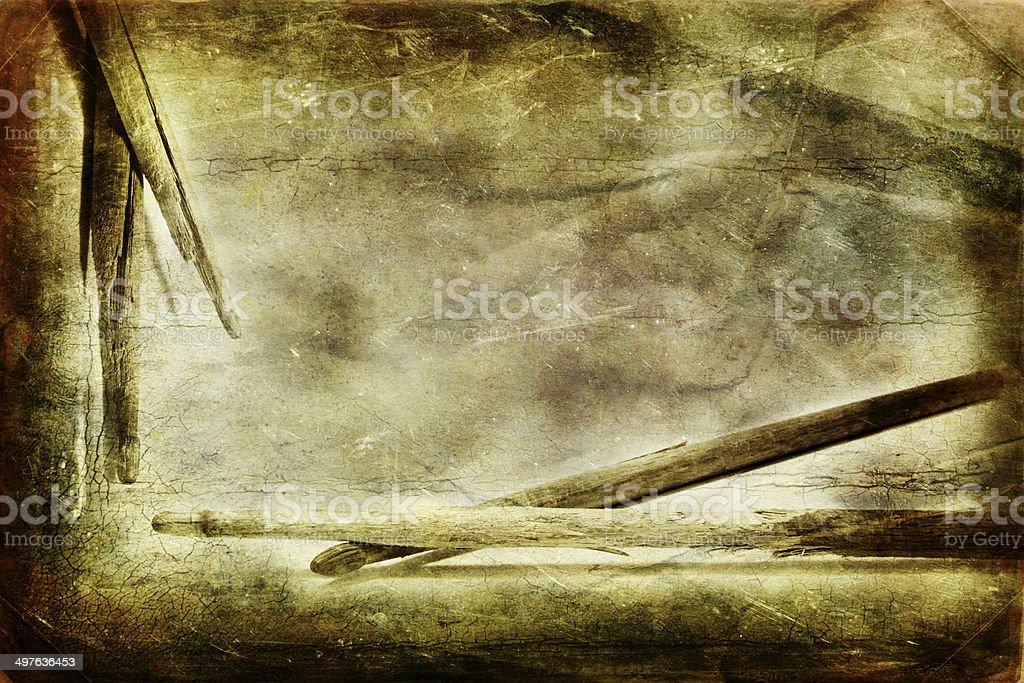 Старый гранж, голяшки Стоковые фото Стоковая фотография