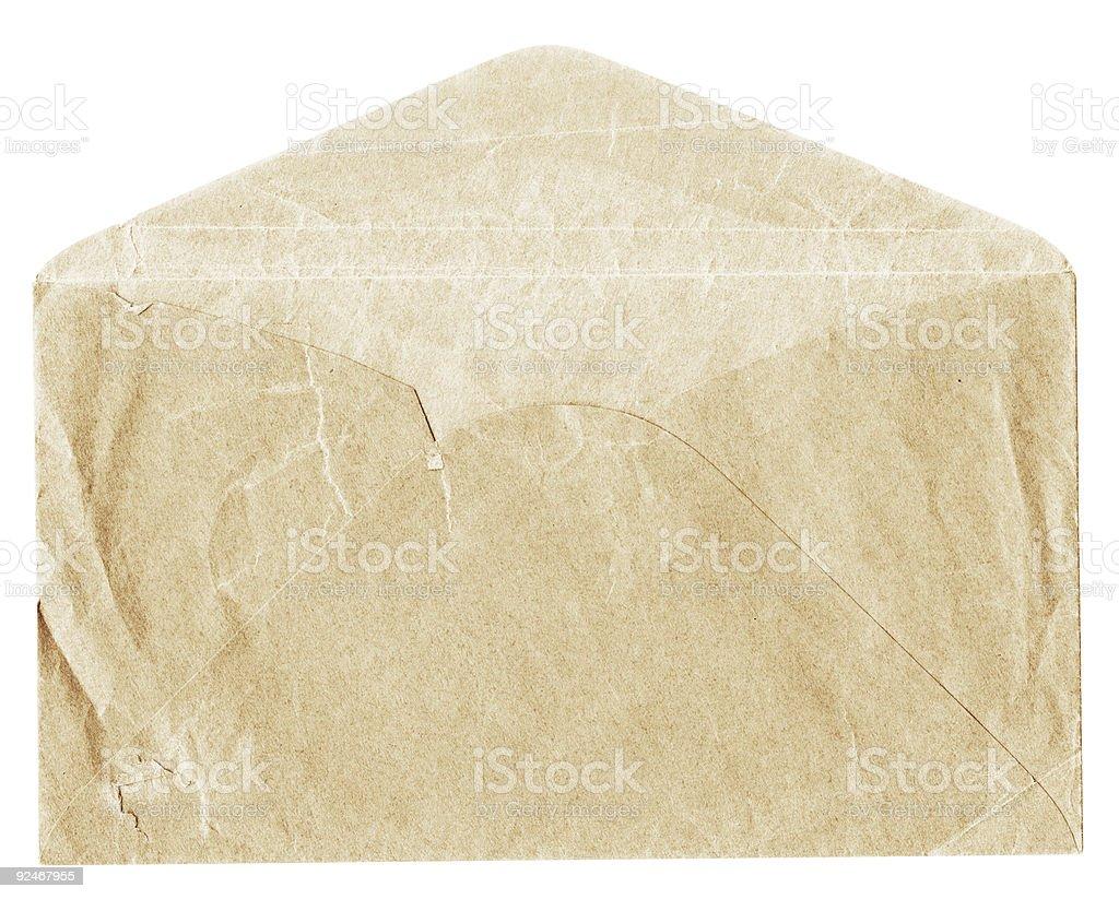 Old Grunge Envelope royalty-free stock photo