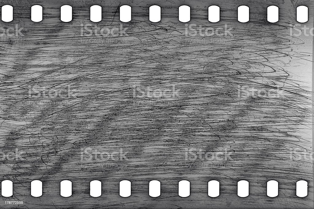 Old grunge filmstrip royalty-free stock photo