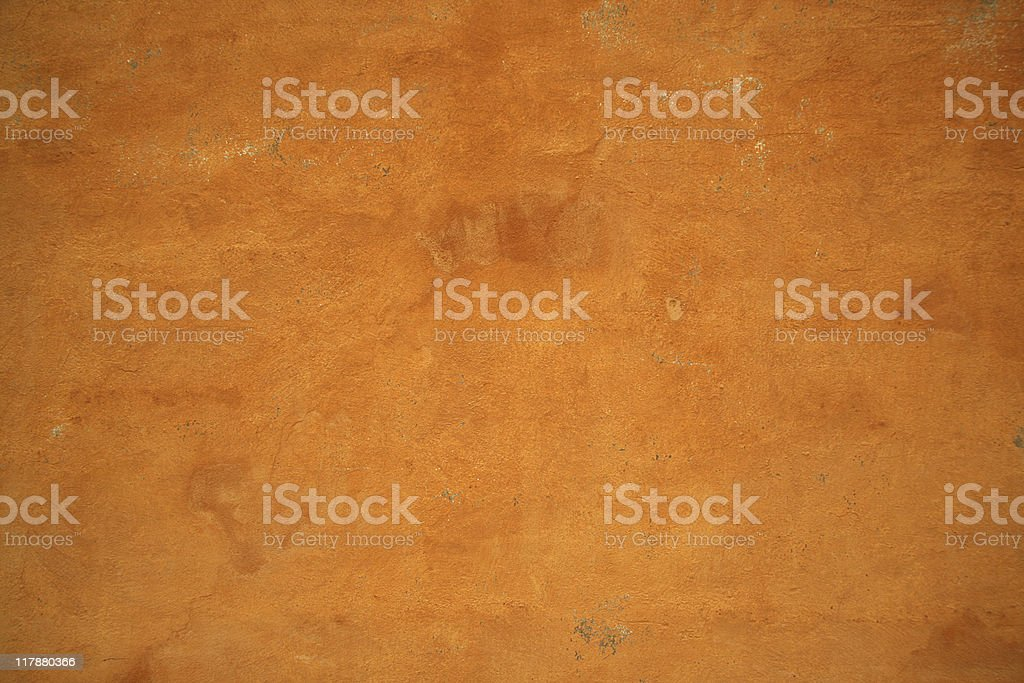 Old grunge golden wall texture and background royalty-free stock photo