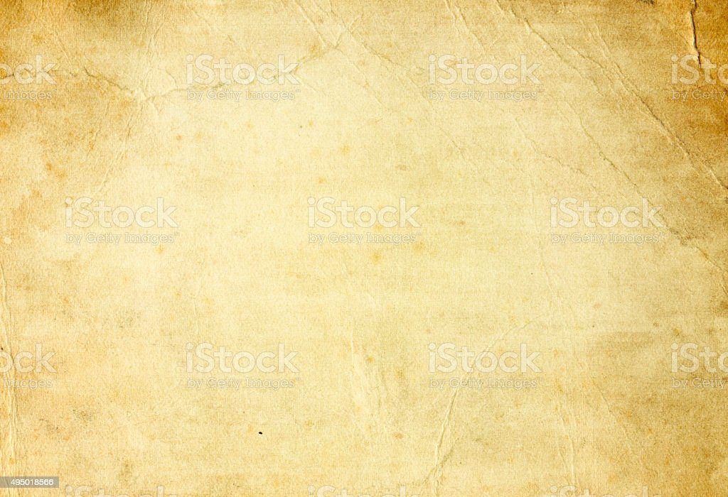 Old grunge paper background. stock photo