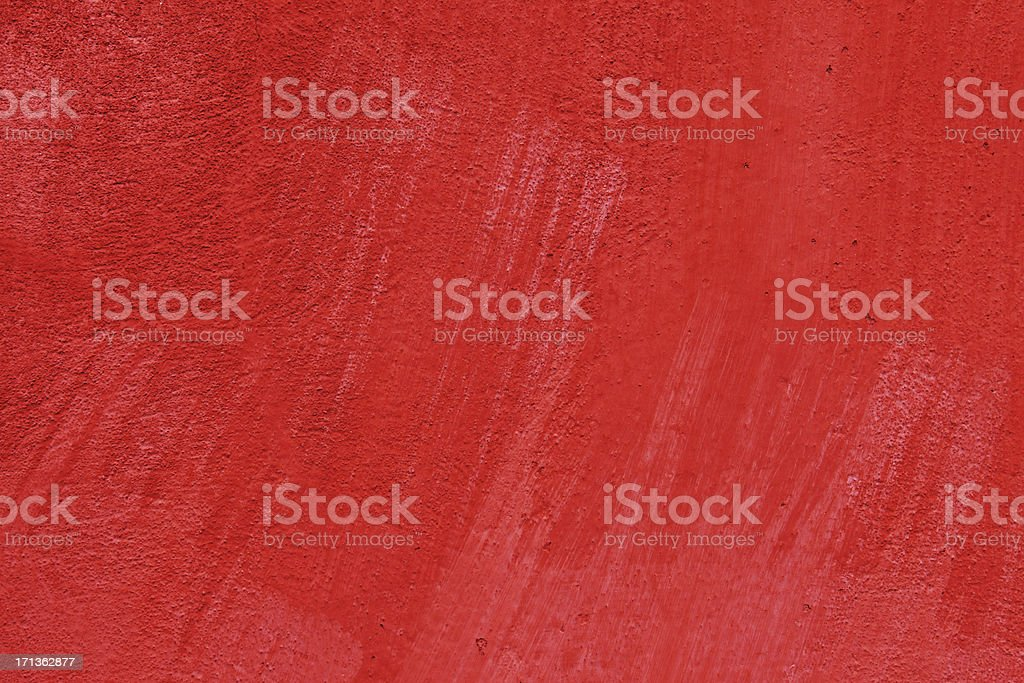 Old grunge red wall texture -  XXXL royalty-free stock photo