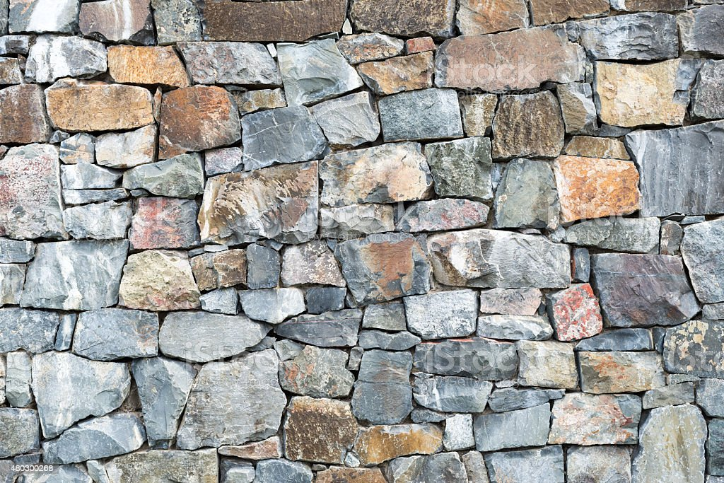 Old grunge rock wall texture background stock photo