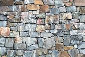 Old grunge rock wall texture background